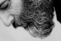 """Fuckyeahbeards / """"For God wished women to be smooth and to rejoice in their locks alone growing spontaneously, as a horse in his mane. But He adorned man like the lions, with a beard, and endowed him as an attribute of manhood, with a hairy chest–a sign of strength and rule.  This, then, is the mark of the man, the beard. By this, he is seen to be a man. It is older than Eve. It is the token of the superior nature….It is therefore unholy to desecrate the symbol of manhood, hairiness. It is not lawful to pluck out the beard, man's natural and noble adornment.""""  / by Christoffer Pertoft"""