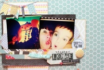 made by me / Scrapbook LO's created and designed by moi ;)