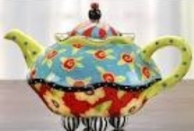Teapots / Tea for Two?  A cup for me and a cup for you!  ~ Some are new, some are old, some are whimsical and some are unusual teapots.  Please feel free to repin and share and like my board if you dare... LOL  Thanks and happy pinning!  / by Ginny Toll