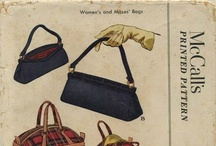 My Vintage Purse Sewing Patterns / From my personal collection ~ Vintage Sewing Patterns for Purses and Handbags / by Valerie Seaholm