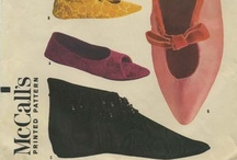 My Vintage Accessories Sewing Patterns / From my personal collection ~ Vintage Sewing Patterns for Ladies' Accessories: Spats, Gloves, Scarves, and more / by Valerie Seaholm