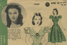 My Vintage Stars of Hollywood Sewing Patterns / From my personal collection ~ Vintage Sewing Patterns featuring stars of Hollywood / by Valerie Seaholm