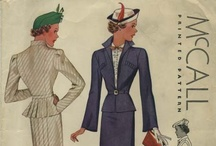 My Vintage Suit Sewing Patterns / From my personal collection ~ Vintage Sewing Patterns for Suits  / by Valerie Seaholm