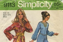 My Vintage Jumpsuit Sewing Patterns / From my personal collection ~ Vintage Sewing Patterns for Jumpsuits / by Valerie Seaholm