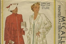 My Vintage Coats Sewing Patterns / From my personal collection ~ Vintage Sewing Patterns for Coats, Capes and Wraps / by Valerie Seaholm
