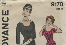 My Vintage Little Black Dress Sewing Patterns / From my personal collection ~ Vintage Sewing Patterns for little black dresses / by Valerie Seaholm