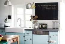 Kitchens / Kitchen decorating ideas. DIY Kitchen organization and storage.