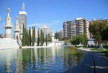 Parks & Squares in Barcelona