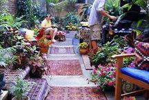 Garden spaces / by orangedoorvintage