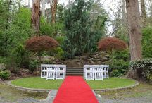 Outdoor ceremonies / Photos of the beautiful outdoor ceremony locations at Chateau Wyuna