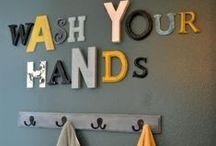 Bathroom / Dream bathroom, bathroom DIYs, bathroom accessories  / by Sarah Eaton