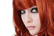 Redheads / Gathering ideas for makeup and clothing colors that suit red hair.