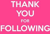 Disclaimers / I want to thank you for following me on Pinterest!   / by Ginny Toll-GetFit2StayHealthy