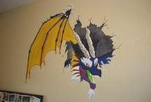 My Murals/Paintings / These are murals or paintings I've made over the years. Some for me, some for friends.