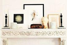 Mantles / Art & beauty & fireplaces