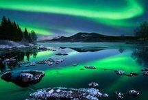Photobalous / Aurora Borealis / The amazing world of color at night!  I'm going to see this in person this Jan 2015 and I can't wait.  Update~I saw the lights and it was amazing.  It truly gives you an appreciation of these amazing photos and how hard it is to capture this amazing phenomenon!    / by Ginny Toll