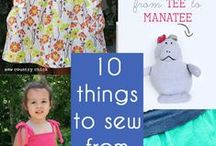 Sew not my Ideas / Inspiring and potential sewing projects / by Arielle Shaver