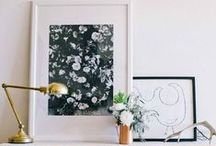 Styling Spaces With Artwork / Ways to collect and curate curious and meaningful objects and artwork.