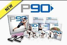 P90®,  P90X®, P90X2®, and P90X3®  - BeachBody / Tony Horton's has created some of America's best selling home fitness programs - P90, P90X,  P90X2, 10 Minute Trainer, Power 90 and P90X3 - all in collaboration with Beach Body.    It's a 90-Day Program made  for EVERYONE. The best part is that it can all be done at home with your own exclusive coach and team to help you! Interested? Let's connect! Send an email to ginny.toll@gmail.com and let me know a little about your goals and lifestyle! We'll work together to pick the right program for you! / by Ginny Toll-GetFit2StayHealthy