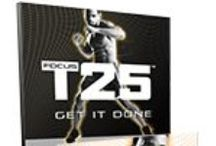 Focus T25 - BeachBody / Shaun T designed a program that delivers the same kind of results you'd expect from an hour-long program, in under 30 min. The result is FOCUS T25—and the name implies the intent: If you focus your intensity for 25 min, and you do it 5 days a wk, you WILL get results. ~ Let's connect! Email me with your goals and lifestyle at ginny.toll@gmail.com so you can start. / by Ginny Toll-GetFit2StayHealthy