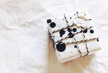 Creative Gift Wrap / Making special gifts extra special.  Artful packaging and easy style.  / by Emily Jeffords