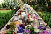 table decor / by Martha McKenzie Jager