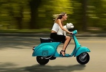 Scooter | It's How I Roll / I cruise around town on my 2004 Honda Metropolitan when the weather is warm. Too cute, gotta scoot! / by Lisa Gifford Mueller | Creative Business Mentor | Photographer | Fused Glass Artist | Creative Entrepreneur | Kitty Fantastic