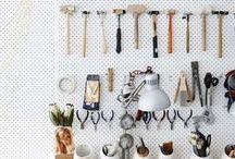 Organized space (laundry+storage)
