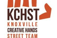 Knoxville Creative Hands Street Team / Find information about our Team, Team members and projects we might be working on as a Team during our meetings. KCHST is an Etsy Team based in Knoxville, TN serving the local area. Find out more about us at https://www.etsy.com/teams/5499/knoxville-creative-hands-street-team / by Lisa Gifford Mueller | Creative Business Mentor | Photographer | Fused Glass Artist | Creative Entrepreneur | Kitty Fantastic