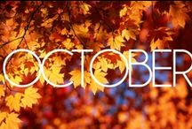 """best time of the year! / """"I'm so glad I live in a world where there are Octobers."""" - L.M. Montgomery / by amymarie."""