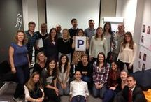 Purple P Campaign / To create awareness of pancreatic cancer we want you all to take a picture of yourself holding a purple P!  Pancreatic Cancer Awareness Month 2014