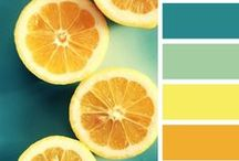{color} / Color combinations for fused glass inspiration and color palettes for styled photo shoots