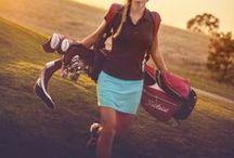Tee Time. / #Golf #WomenInGolf #LadiesGolf #Fitness / by Allie Gerber