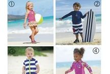 Sun Smarties 2014 / UPF 50+ Clothing for babies and kids! This year's collection is even softer and comfier than ever, with a more precise fit...more exciting detailing...& more styles! Designed by One Step Ahead! / by One Step Ahead