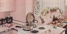 Retro Kitchens / Vintage and reproduction kitchens