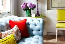 BIG FURNITURE: Other People's Stuff We Like! / Supporting colorful upholstery ideas across the world wide web. / by CASSARO