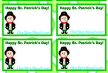 St Pat's Day / Free St Pat's coloring pages, lunchbox notes & special treats for kids from One Step Ahead!  / by One Step Ahead