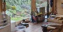 Studio space and workbenches / All those amazing work benches and studio spaces!
