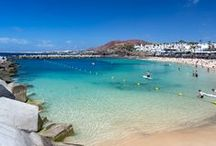 Lanzarote / From Costa Teguise in the north to Playa Blanca in the south, resort towns are centred on their strip of beach. Take your pick from lively ones where watersports are a must, to quieter ones perfect for families. Up and down the island, there are secluded coves where you might be the only one on the beach.