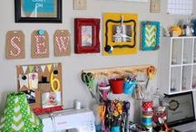 craft room / by Vanessa Brown