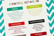 Organizing tips / Odds and ends about organization, planning, cleaning etc