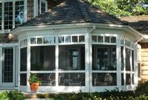 Porches / From the outside looking in...so inviting.