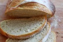 Our Daily Bread / Something about the aroma of bread baking = comfort!  A collection of home-made (or at least home-baked) breads,.