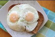 Breakfast - Egg in my face. / All about the eggs, and breakfast potatoes....plus some other great little breakfast ideas.