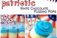 Patriotic Party - Food and Decor / God Bless the U.S.A.!