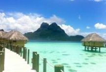 Bora Bora Honeymoons- Absolute Paradise  / Honeymoon in Bora Bora, one of the most beautiful islands in the world, Unforgettable Honeymoons can help you choose the perfect resort in Bora Bora, we have been there, and know where to stay, and what to do!  Ask us for our advice.  Ask us to email you our FREE South Pacific Honeymoon planner packed full of invaluable advice to help you plan. email us info@unforgettablehoneymoons.com   / by Unforgettable Honeymoons®