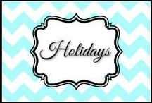Holidays / by Dani