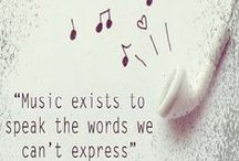 Musical Notes / Quotes, Notes, Jokes, logos and album art - on one of life's greatest gifts - Music!