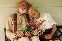 Fortunate Few.... / Sweet Pics of those Fortunate Few who manage to Love for a lifetime, or perhaps find love late in life.