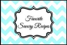 Favorite Savory Recipes / breakfast, lunch, dinner & anything that doesn't feed my sweet tooth / by Dani
